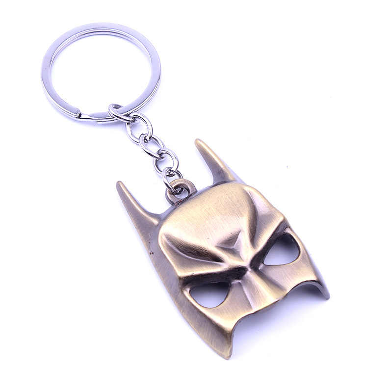 2019 Captain America Thor Batman Iron Man Superman Spider Man Avengers Keychain Keyring Movie Super Hero Key Ring Accessories