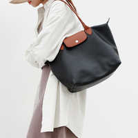 2019 nuevos bolsos de moda para mujeres bolsos de diseñador de marcas famosas bolsos de playa de cuero Casual Nylon Bolsas impermeable Bolsas femeninas