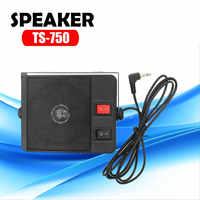 Heavy Duty TS750 TS-750 Falante Externo para o rádio Do Carro móvel 3.5 milímetros Ham CB Rádio Transceptor Hf Walkie Talkie Carro alto falante