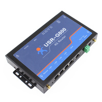 Usr g800 Промышленные 4 г Беспроводной LTE маршрутизатор RS232 до 4 г сеть прозрачный Трансмиссия с Сим слот для карт