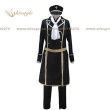 Kisstyle moda de uta no prince sama debut natsuki shinomiya negro uniforme cos ropa cosplay