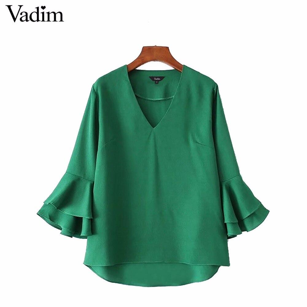 Compra camisa verde esmeralda online al por mayor de China
