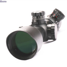 3-12×42 Side Focus AO Rifle Scope Mil-Dot Illuminated Reticle