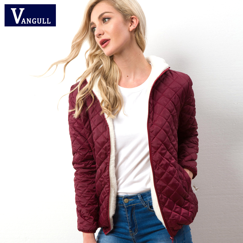 2019 Autumn Winter Warm Women Cotton Jacket Casual Quilted Woman Hooded   Parkas   Long sleeve High Quality Light Female Loose Tops
