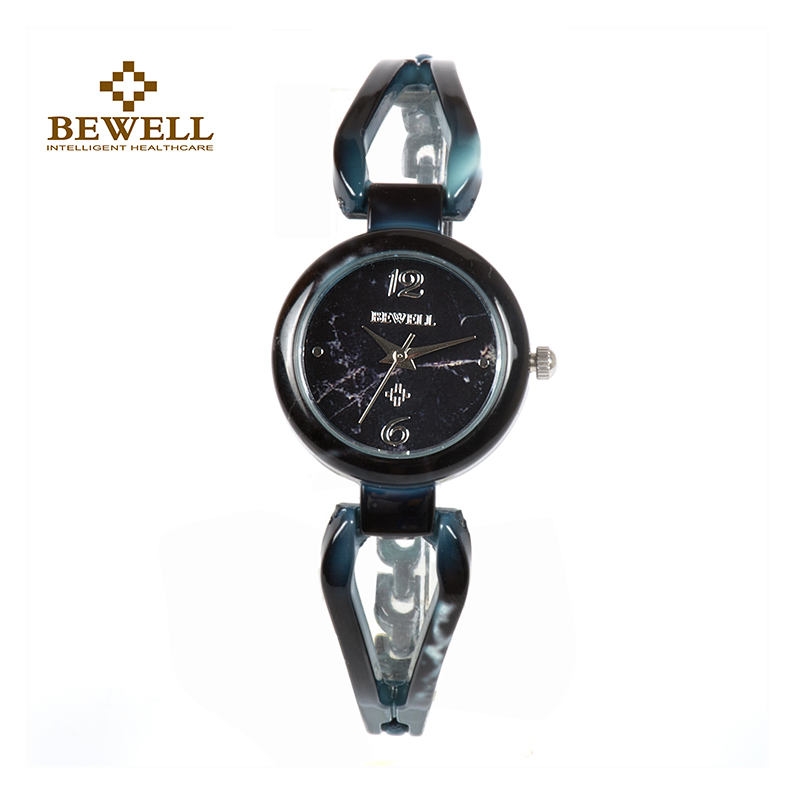 BEWELL Women's Watch New Arrival Special Stone Quartz Watch Women's Unique Bracelet Gemstone Limited Edition Girl 077A new mf8 eitan s star icosaix radiolarian puzzle magic cube black and primary limited edition very challenging welcome to buy