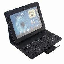 """Para Samsung Galaxy Note 10.1 """"N8000 N8010 caso Extraíble cubierta de la Caja Del Teclado Inalámbrico Bluetooth para samsung galaxy note N8000"""