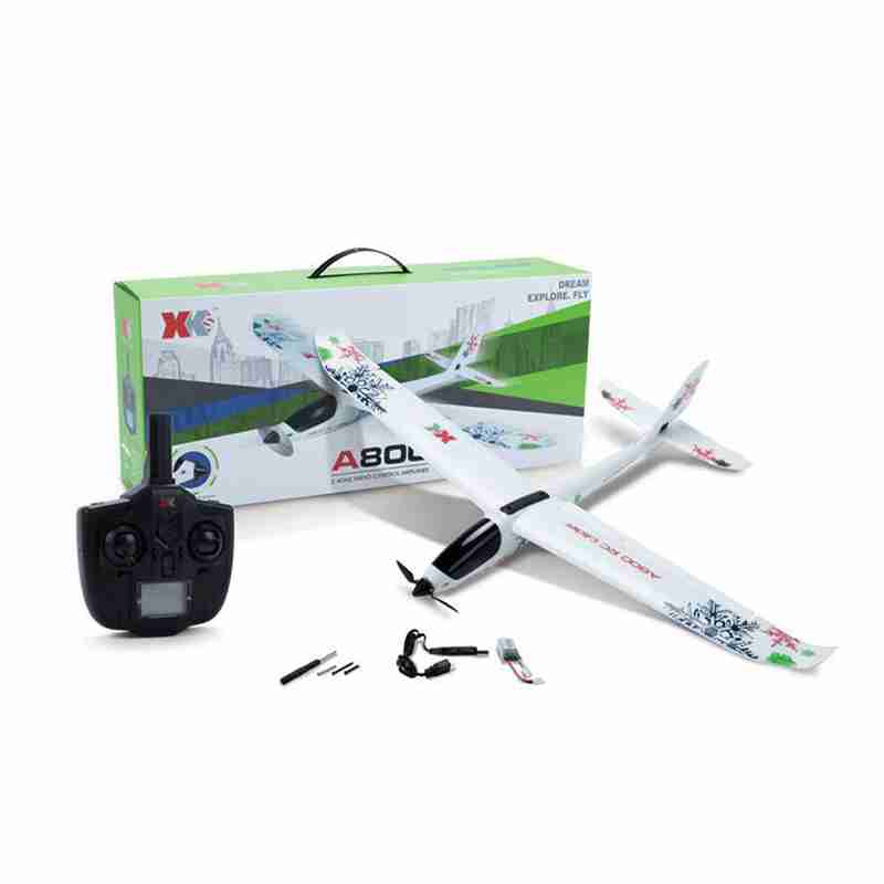 New 2019 RC Airplane XK A800 4CH 780mm 3D6G System RC Model