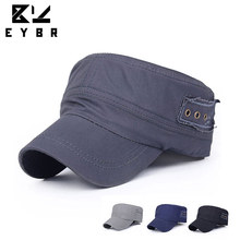 1PC Classic Women Men Snapback Caps Vintage Army Hat Cadet Military Patrol Cap Adjustable Outdoors Baseball Unisex Hats Hot 2016