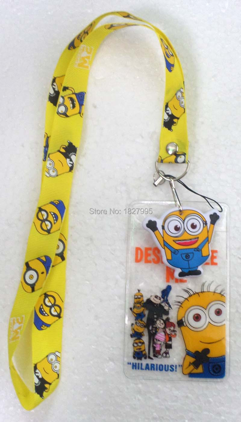Silver Buffalo DM7881H Despicable Me Minions Lanyard with Badge Holder