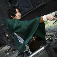 Anime Angriff auf Titan Cosplay Kostüm Eren Mikasa Mantel Shingeki keine Kyojin Cosplay Scout Legion Cape Jiyuu keine Tsubasa Druck