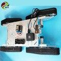 Официальный DOIT T900 4wd Металлический Бак Caterpillar Умный Автомобиль Беспроводной Пульт Дистанционного Видеокамера Робот Шасси