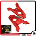 For Kawasaki Z800 2013 2014 2015 2016 Motorcycle Accessories CNC Aluminum Rear Axle Spindle Chain Adjuster Blocks Red
