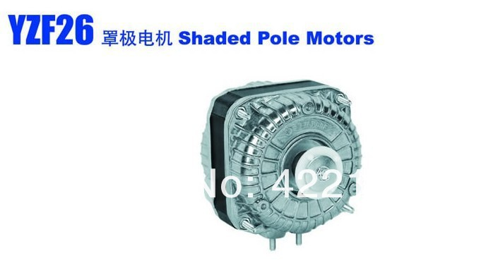 ФОТО YZF25-40-26 shaded pole motor Used in the radiator,evaporator and so on  free shipping