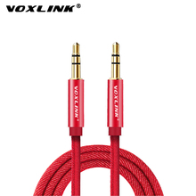 VOXLINK  3.5mm Aux Cable Male to Audio Line for iPhone Samsung galaxy s8 Car Headphone Xiaomi redmi 4x Jack