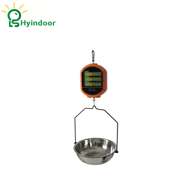 15kg digital price computing scales with tray hanging hook crane