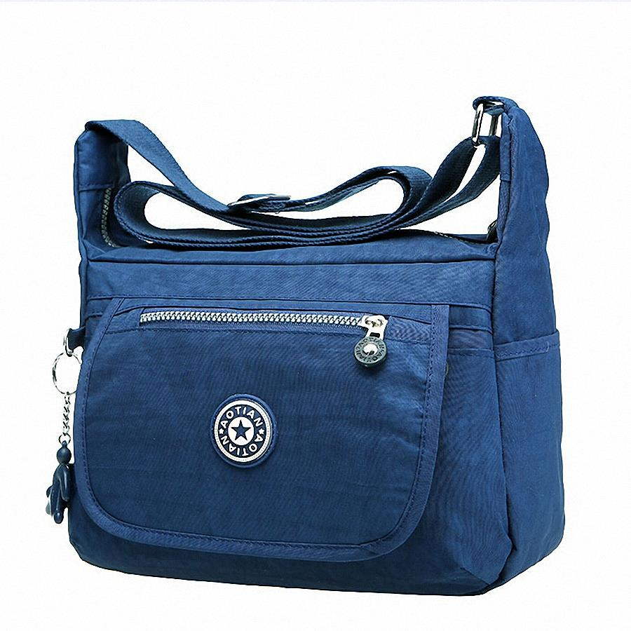 Women's Messenger Bags Ladies Waterproof Nylon Handbag Travel Casual Original Bag Shoulder Female Large Crossbody Bag Bolsas women s messenger bags ladies nylon handbag travel casual bag shoulder female high quality large capacity crossbody bags