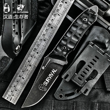 Pocket knife D2 steel imports Tactical Knife G10 handle survival knife CPM blade camp Camping hunting utility Knives EDC tools