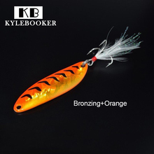 Fishing lure spoon 10g metal isca artificial ice fishing lure winter fishing tackles equipment wholesale peche