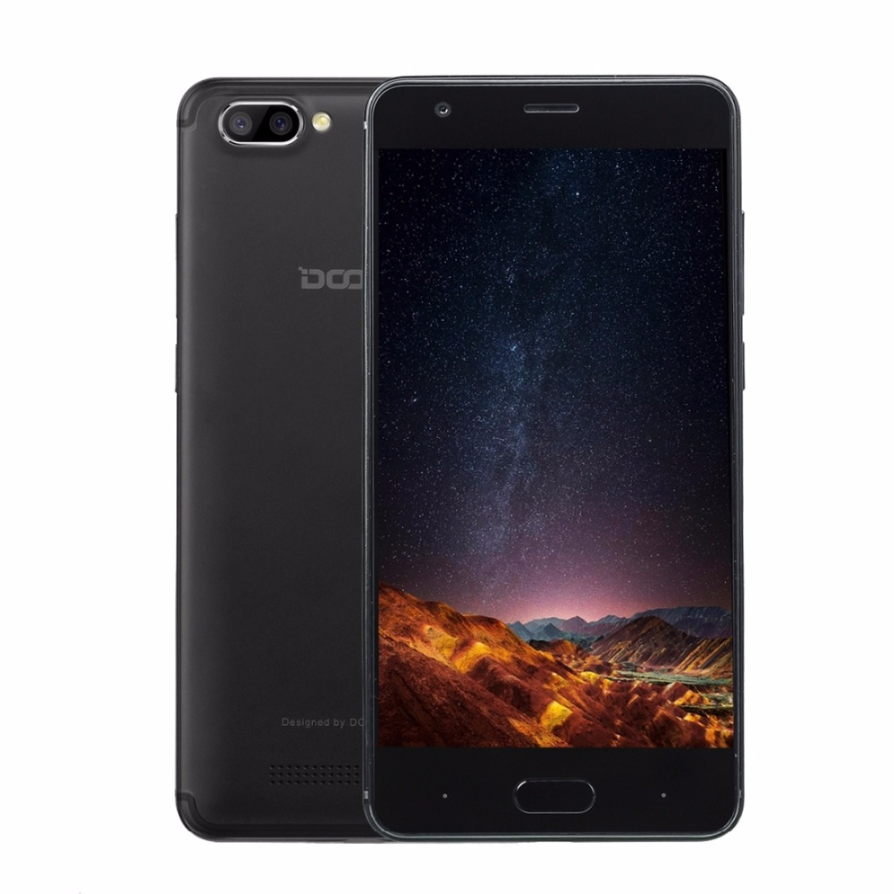 Originale Doogee X20 ROM 16 GB Smartphone MTK6580 Quad Core 5.0 Pollice Android 7.0 RAM 2 GB GPS 3G Del Cellulare OTA Doppia Fotocamera Posteriore