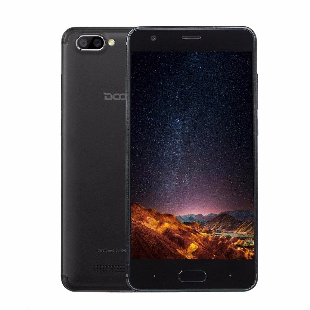 Origine Doogee X20 ROM 16 GB Smartphone MTK6580 Quad Core 5.0 Pouce Android 7.0 RAM 2 GB GPS 3G Téléphone Portable OTA Double Retour Caméra