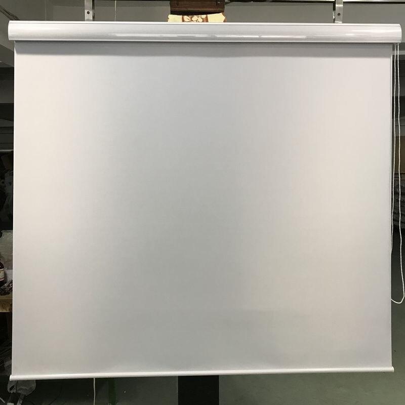 100% Polyester Maß Blackout Rollos in Weiß Fenster Vorhänge für Wohnzimmer 7 Farben Sind Verfügbar-in Rollläden, Rollos und Jalousien aus Heim und Garten bei AliExpress - 11.11_Doppel-11Tag der Singles 1
