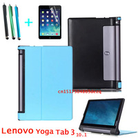 HOT YOGA Tablet 3 10 X50L X50M X50F Luxury Original Case Cover For Lenovo YOGA Tab