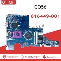 CQ56 motherboar 616449 001 for HP G42 CQ56 G56 CQ42 G62 motherboar Notebook GL40 laptop motherboard DAAX3MB16A1 100% tested