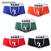 5PCS/Lot Underwear Boxer Men Breathable Cotton Men Boxers Male Underpants Sexy Panties Cotton Mens Bodysuit Trunks Pants Boxers