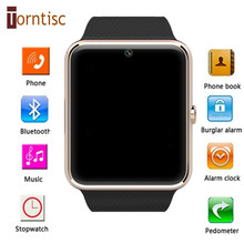 New Arrival! GT08 Smartwatch with Sim Card Bluetooth Connectivity Health Watch for Apple Iphone Android Smartphone