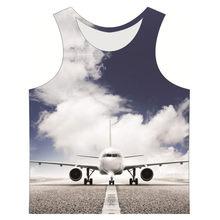 Joyonly Children Blue Sky Aircraft Radar Colorful Galaxy Design Tops 2018  Summer Boys Girls Casual T-shirt 3d T shirt Kids Vest dcc03081f735