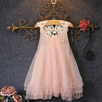 Flower Girl Dresses For Birthday Party Pink First Holy Knitting And Lace Communion Dress For Girls