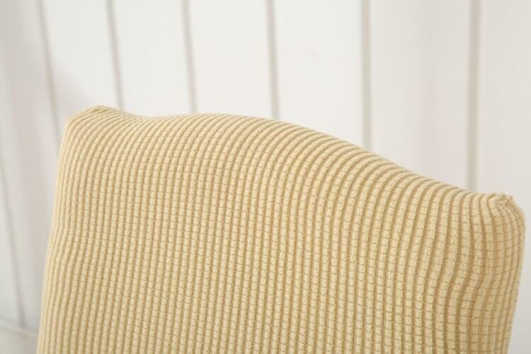 Esquire хлопок Чехлы для стульев Универсальный спандекс обеденный Чехлы для стульев S Ресторан отеля съемный стрейч крышка