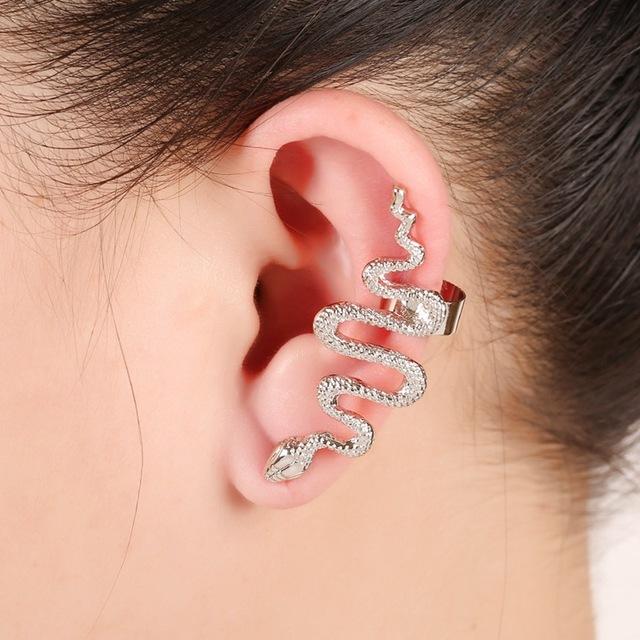 Snake Shaped Ear Cuff