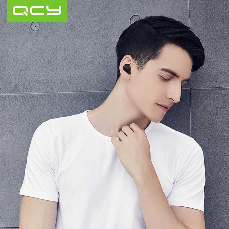 QCY Mini1 Youth Mini zestaw słuchawkowy Bluetooth bezprzewodowy zestaw słuchawkowy Bluetooth V4.1 magnetyczna ładowarka USB wkładka douszna z mikrofonem