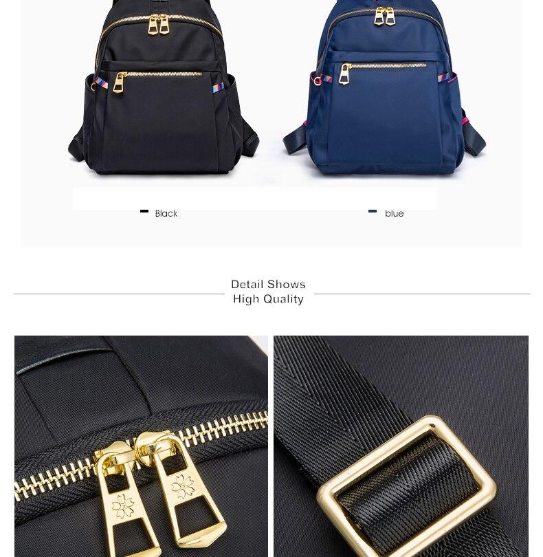 marca mulher mochila alta qualidade oxford mochilas