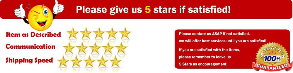 feedback 5 stars