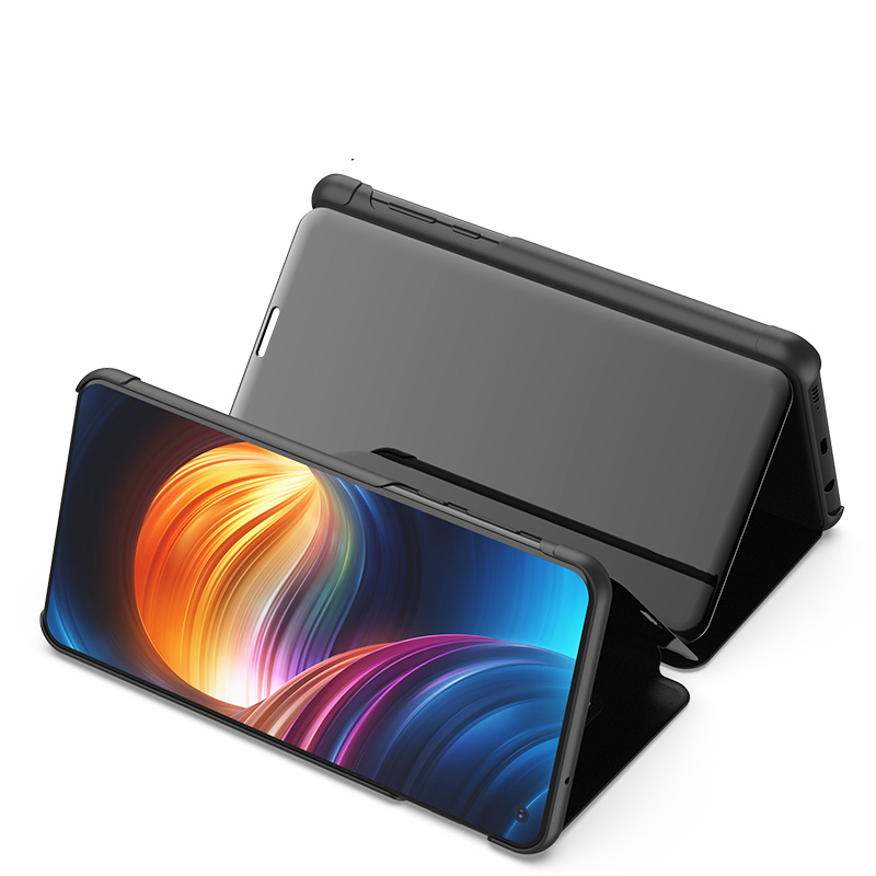 Smart Mirror Flip Case For Huawei Honor 8X Max Case Honor Note 9 10 Lite Play V10 20 8A 9i 2018 Case Clear View Cover in Wallet Cases from Cellphones Telecommunications