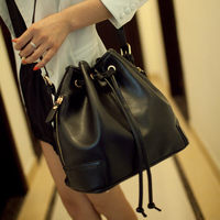 Fashion 2015 Women S Handbag Spring And Summer Candy Color Fashion All Match Bucket Bag One