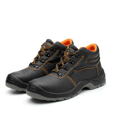 Купить с кэшбэком Safety Men Shoes Lightweight And Breathable All Terrain Steel Toe Rubber Outsole PU Leather Protection Working Shoes Acecare-F