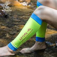 1 Pair Men Women Sport Legwarmers Compression Leg Support Running Basketball Shin Guard To Protect Muscle