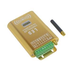 Image 4 - 2048 Pixel WIFI Verbinding SPI Controller LED Music Controller Met Micphone voor Droom Kleur Strip Verlichting