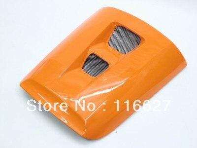 Orange Rear Pillion Seat Cowl Cover For 2004-2007 Honda CBR1000RR CBR 1000 RR new motorcycle rear seat cover cowl for honda cbr1000rr 04 07 2004 2007 2005 2006 carbon fiber free shipping c20