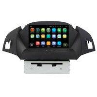 KLYDE 8 отдельный Android 8,1 автомобильный радиоприемник для Ford KUGA 2013 2018 автомобильный аудио Мультимедиа Стерео Зеркало Ссылка DVD плеер Рулевое уп