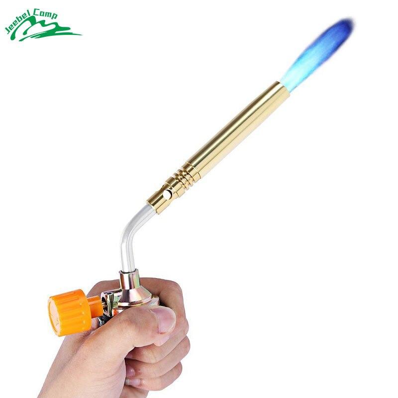 Jeebel Butan Fackel Brenner Gebläse Schweißen Outdoor Camping BBQ Löten gas feuerzeug Flamme gun für Küche Airbrush