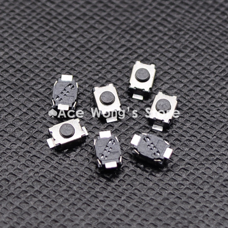 Free shipping 50PCS SMD 2Pin 3X4MM Tactile Tact Push Button Micro Switch Momentary 50pcs lot 6x6x4 3mm 4pin smt g88 tactile tact push button micro switch self reset dip top copper free shipping
