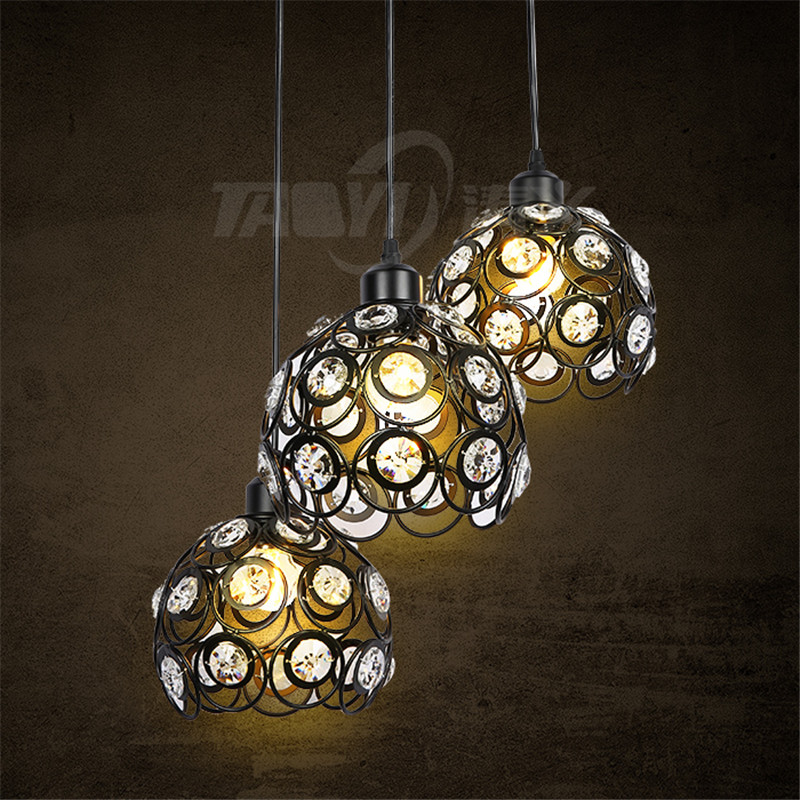 Beautiful design promotion sales iron vintage pendant lights flashing home lighting for hotel