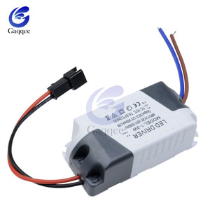 3X1W 3*1W Electronic LED Strip Driver Transformer Simple AC Driver Adapter 85V-265V to DC 3V-14V 300mA LED Power Supply 1W-3W