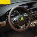 Lsrtw2017 кожаный чехол рулевого колеса автомобиля для lexus es200 es250 es300h 2012 2013 2014 2015 2016 2017 2018 xv60