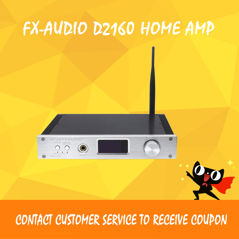 Fx-Audio D2160 bluetooth amplifier usb dac decoding player hifi digital power amplifiers amplificador audio aiyima amplifiers audio tpa3116 2 0 amplificador high power hifi digital amplifier board bluetooth v4 0 csr8635 bluetooth chip