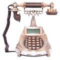 Английский, Арабский античный стационарный времени азана шнур телефон с идентификатор вызова повторный набор пауза Хэндс фри для Офис мусу...